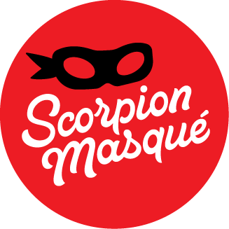 logo scorpion masque